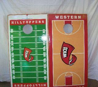 Western Kentucky Cornhole Game
