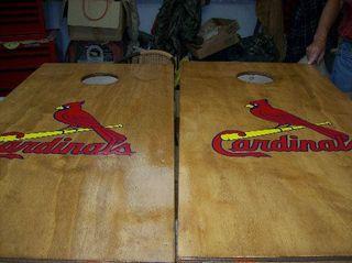 Cardinals Cornhole Game