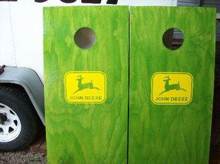 John Deere cornhole game