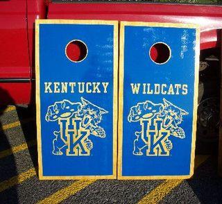 Kentucky Wildcats Cornhole