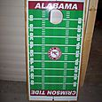 Roll Tide cornhole